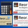 Reor - Updater, About & License. icon