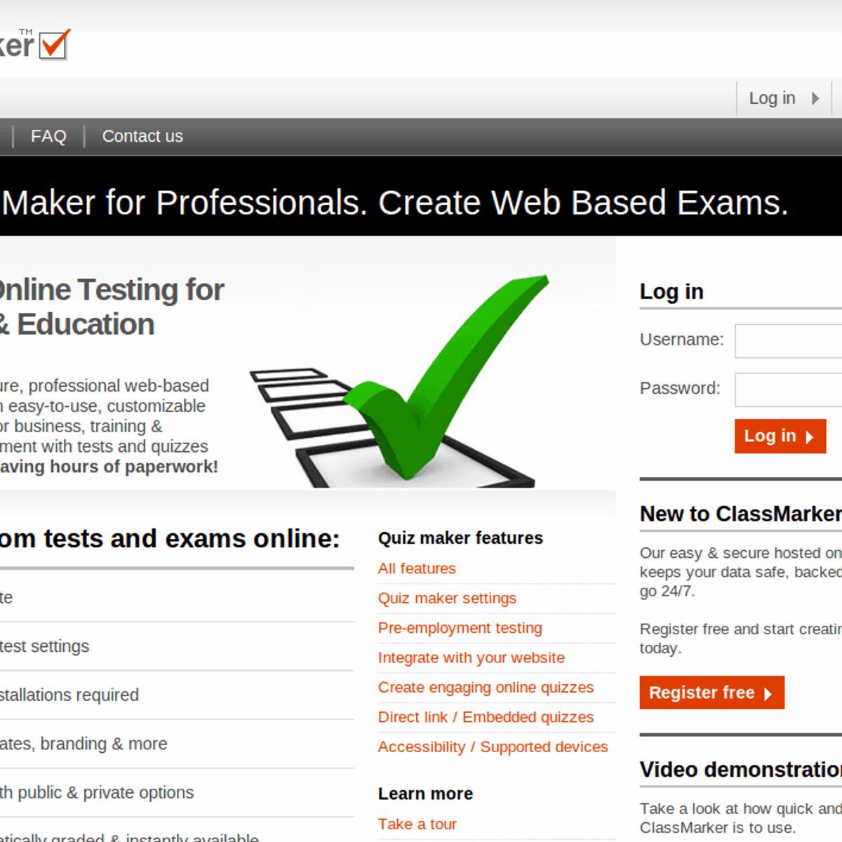 ClassMarker Alternatives and Similar Software