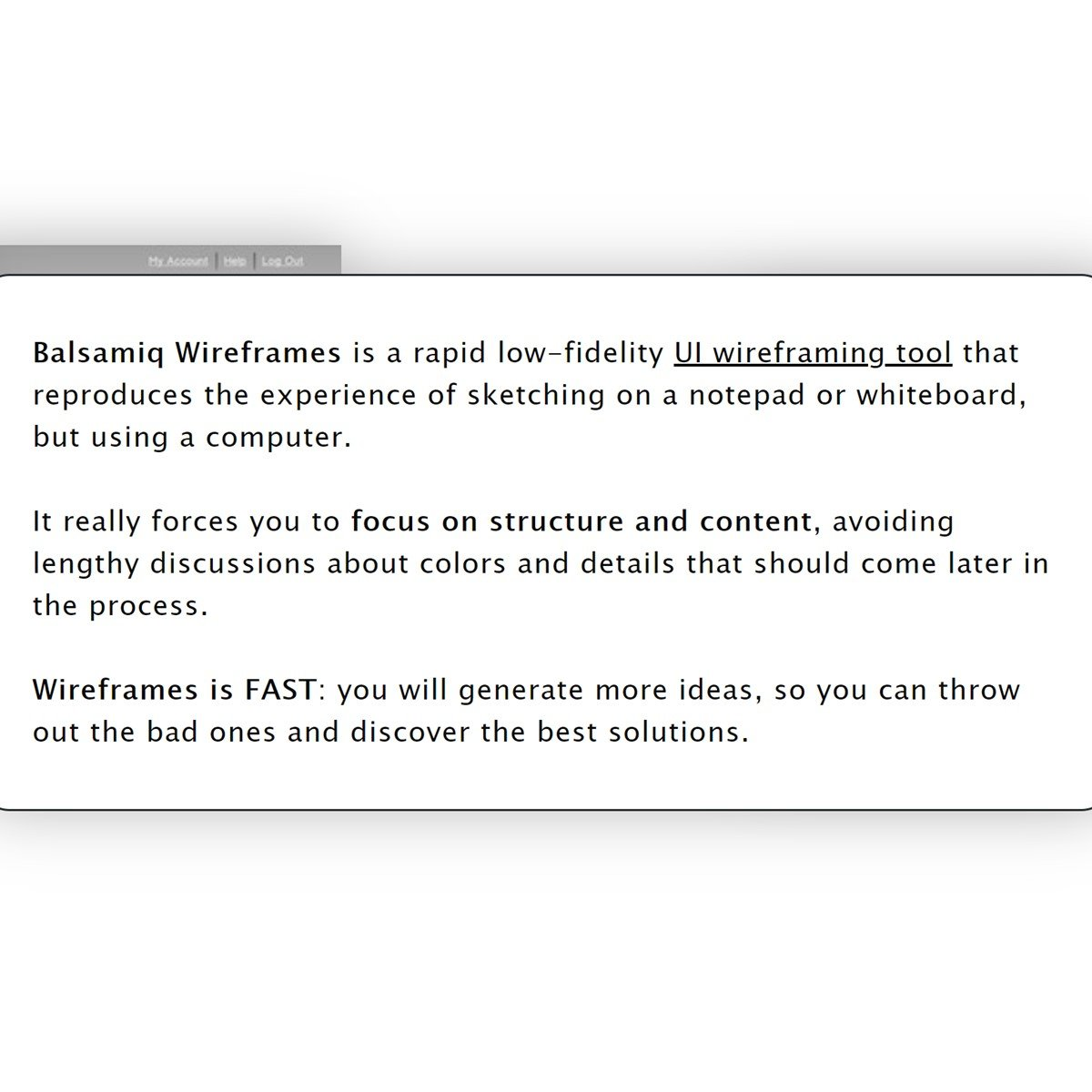 Balsamiq Wireframes Alternatives and Similar Software