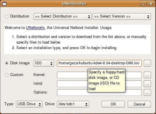 UNetbootin Reviews, Features, and Download links - AlternativeTo