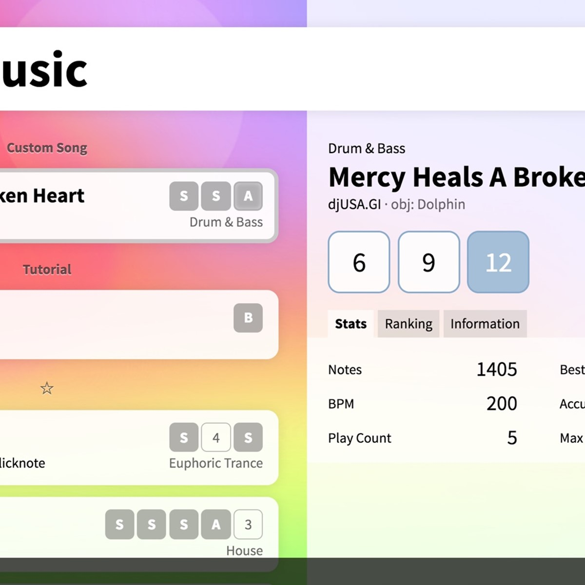 Bemuse: Beat, Music, Sequence Alternatives and Similar Games