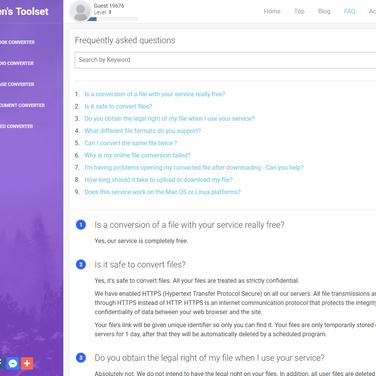 Free Web / Cloud calibre Alternatives tagged with Epub
