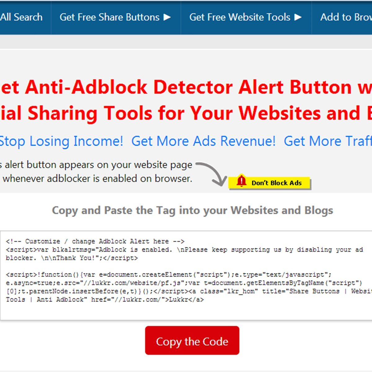 Best Anti Adblock Script Alternatives and Similar Websites