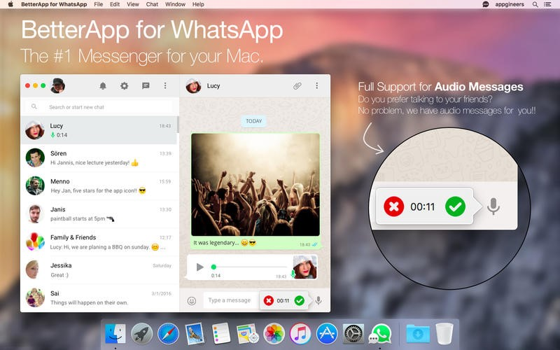 BetterApp for WhatsApp Alternatives and Similar Software