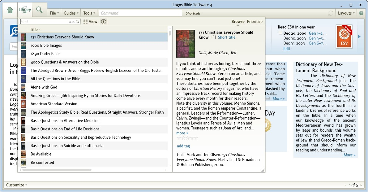 Logos Bible Software Alternatives and Similar Software