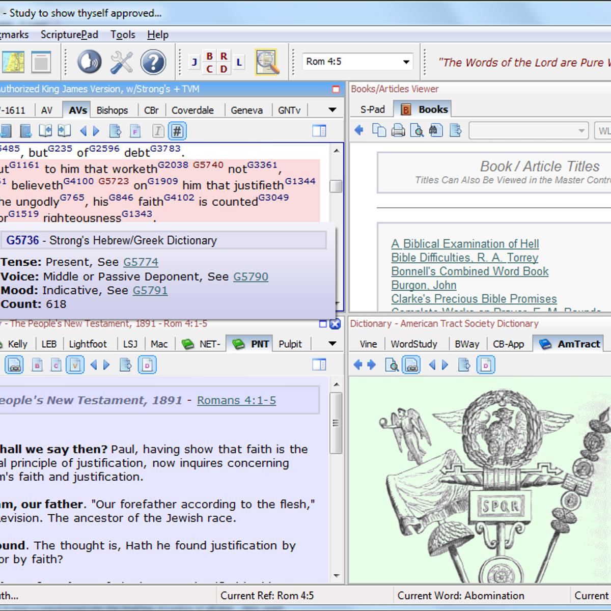 Bible Analyzer Alternatives and Similar Software