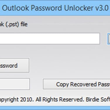 Birdie Outlook Password Unlocker Alternatives and Similar Software