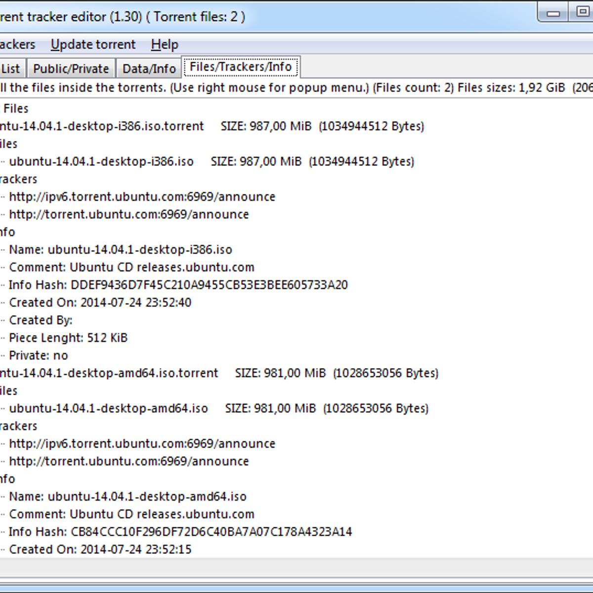 bittorrent tracker editor Alternatives and Similar Software