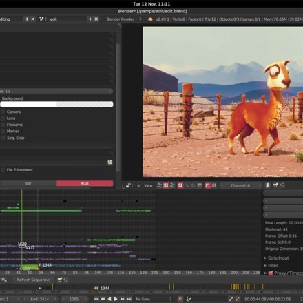 The Video Editor allows you to perform basic actions like video cuts and splicing, as well as more complex tasks like video masking.