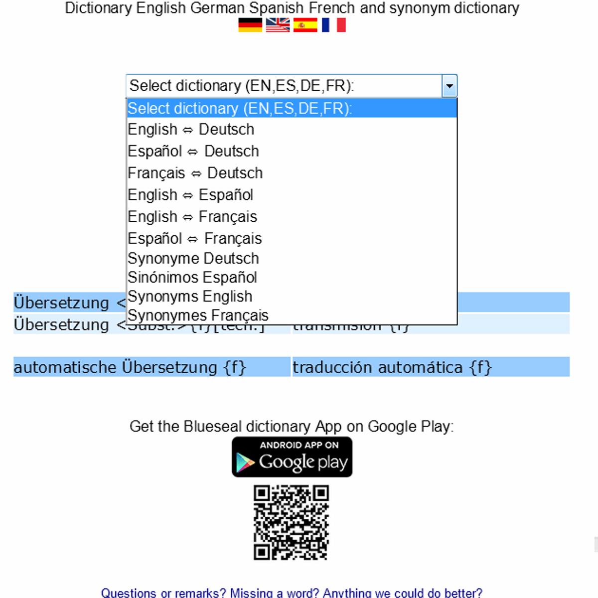 Blueseal Dictionary Alternatives and Similar Software