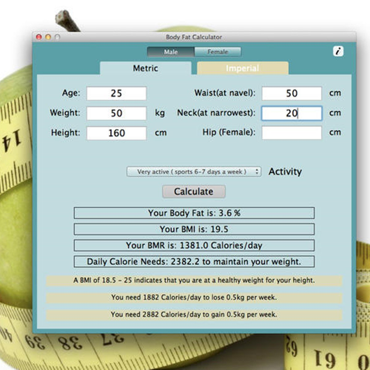 Body Fat Calculator Alternatives And Similar Software