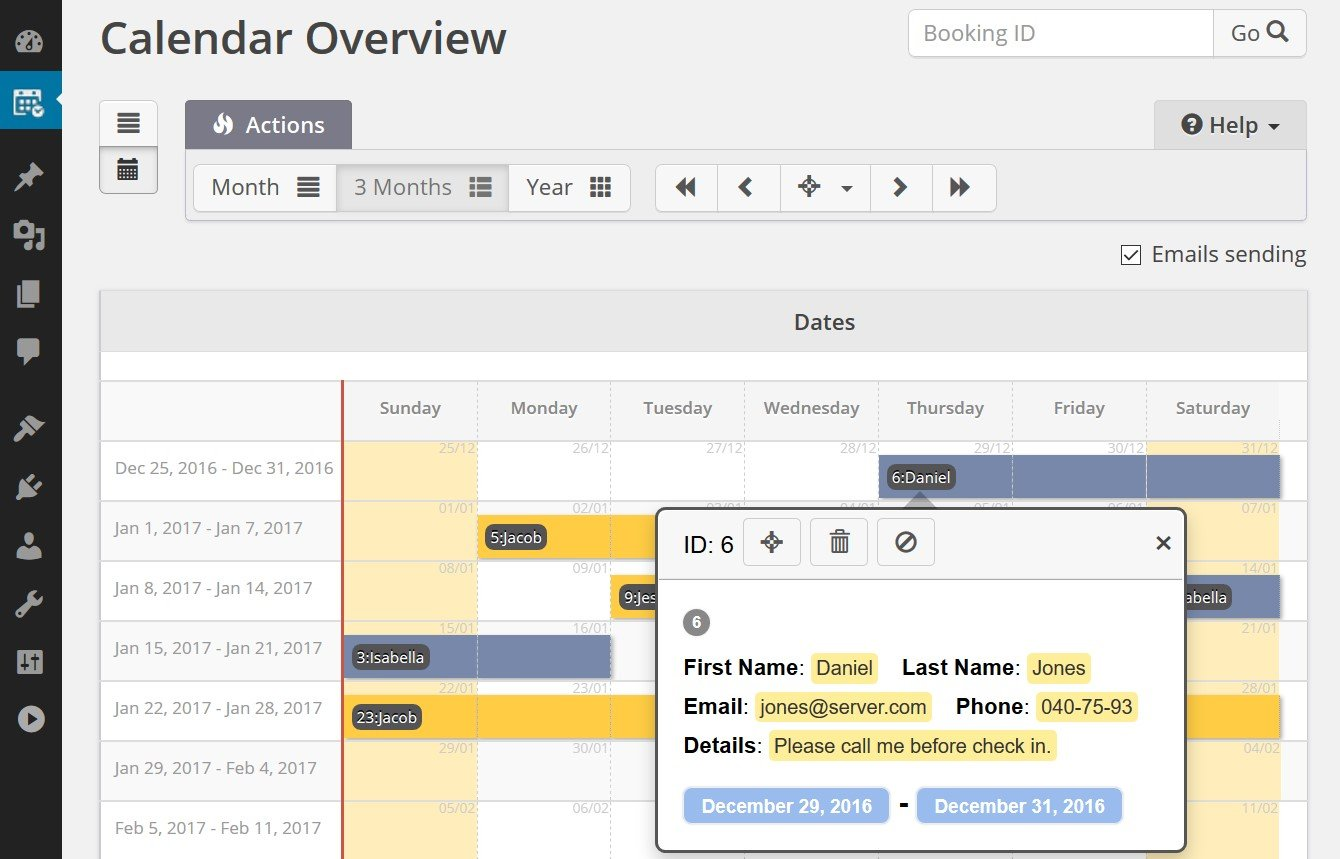 Calendar Booking System Php : Booking calendar alternatives and similar software