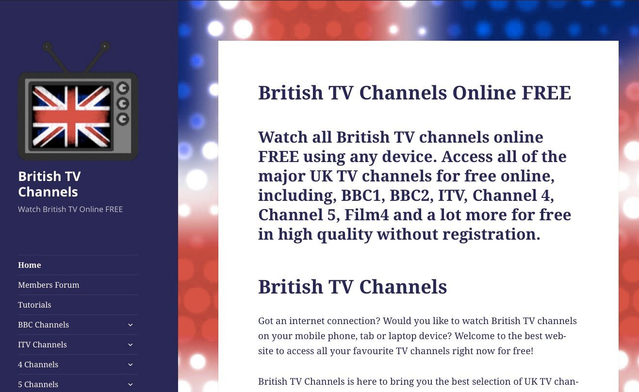 British TV Channels Alternatives and Similar Websites and Apps