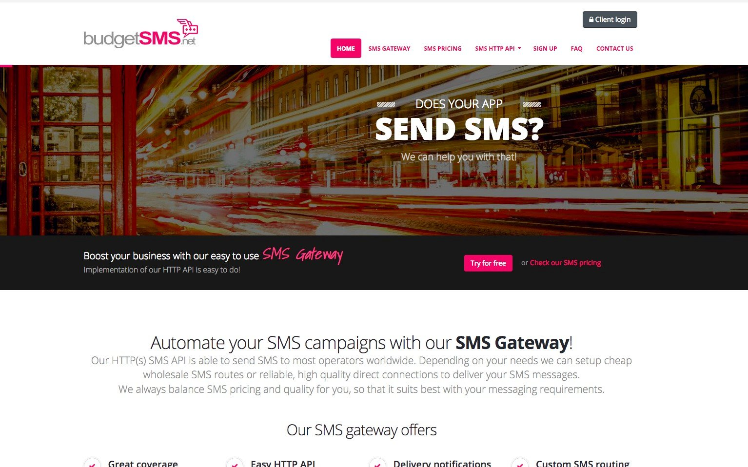 BudgetSMS net Alternatives and Similar Software - AlternativeTo net
