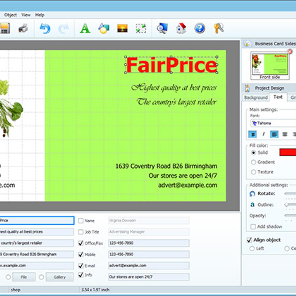 Business Card Maker Alternatives and Similar Software