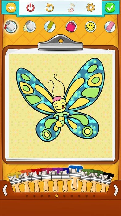 Butterfly Coloring Pages for Kids: Coloring Games Alternatives and ...
