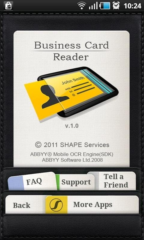 Shape business card reader alternatives and similar software android 1 reheart