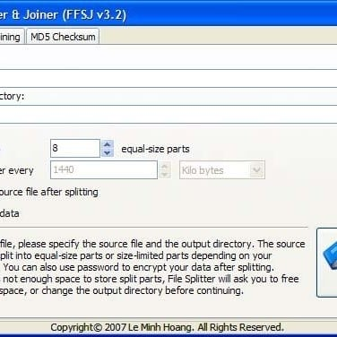 fastest file splitter and joiner free download