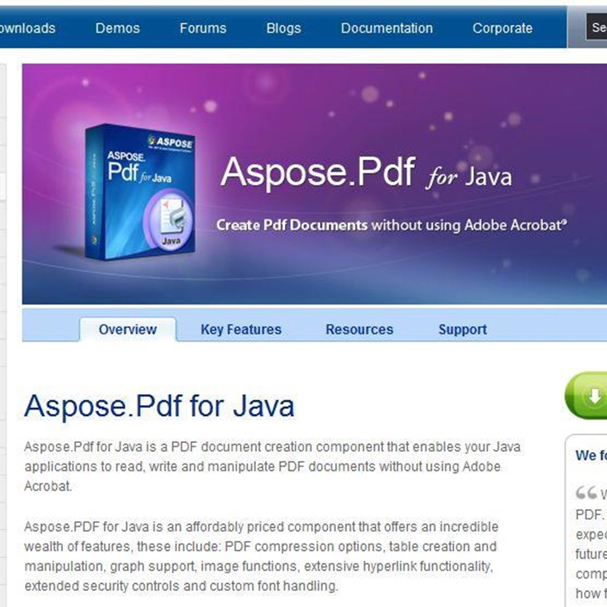 Aspose PDF for Java Alternatives and Similar Software