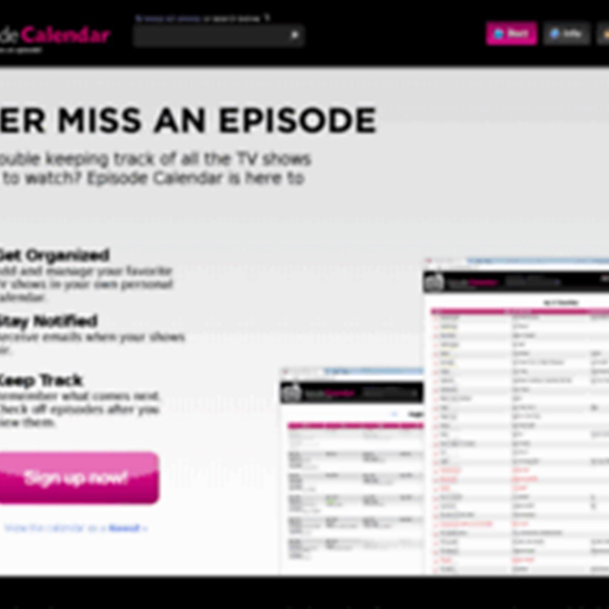 Episode Calendar.Episode Calendar Alternatives And Similar Websites And Apps