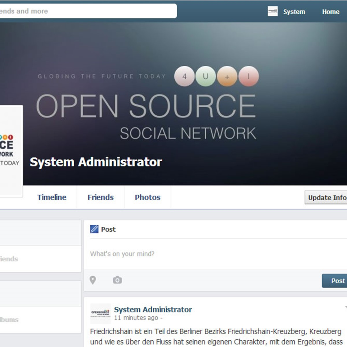 Open Source Social Network ( OSSN ) Alternatives And