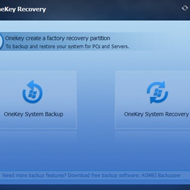 aomei onekey recovery professional free