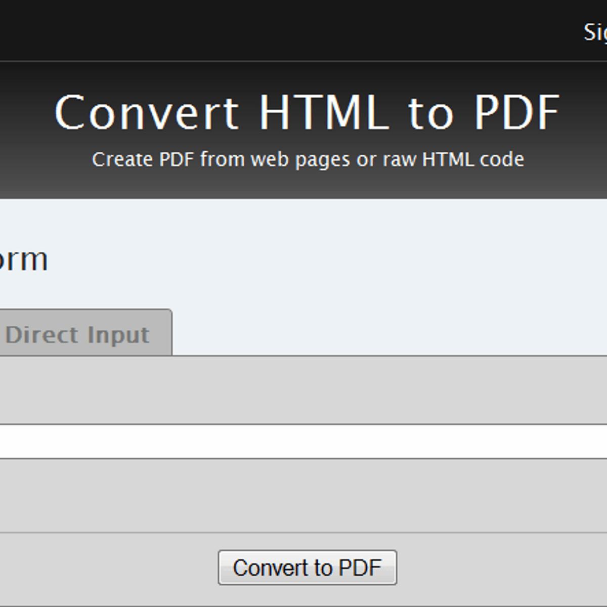 Free Pdfcrowd Alternatives - AlternativeTo net