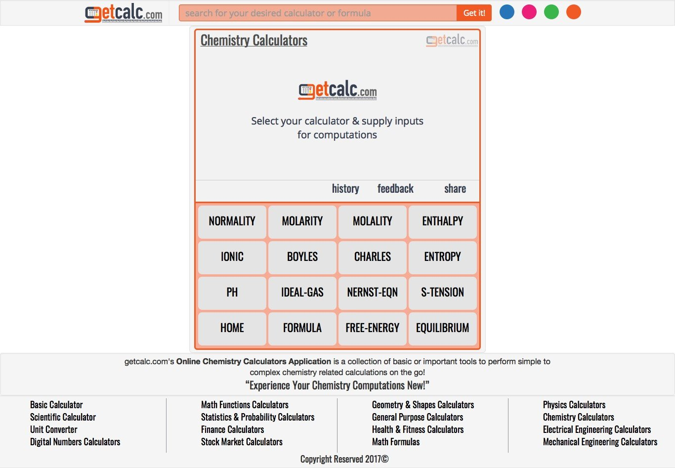 Getcalc Alternatives and Similar Websites and Apps - AlternativeTo net