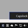 CapsLock Indicator in action icon
