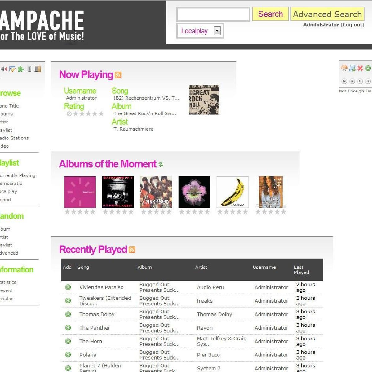 Self-Hosted Ampache Alternatives - AlternativeTo net