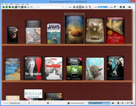 Alfa ebooks manager alternatives and similar software is a history of all activites on alfa ebooks manager in our activity log its possible to update the information on alfa ebooks manager or report it as fandeluxe Gallery