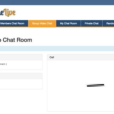 Online private chat room
