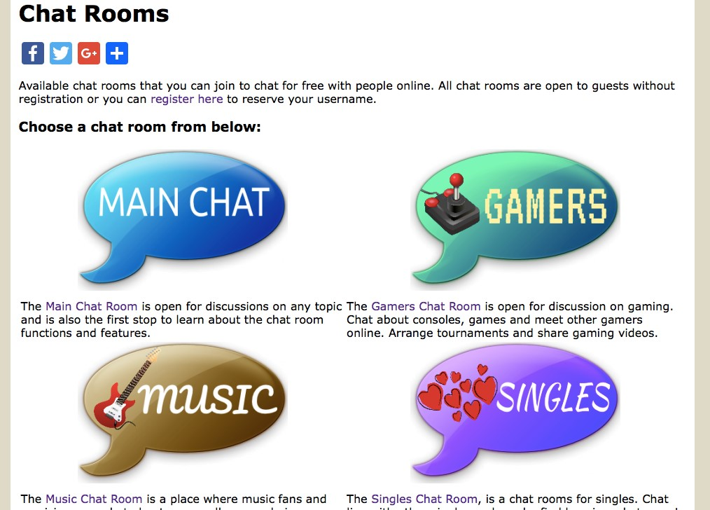 free chat rooms to meet new friends