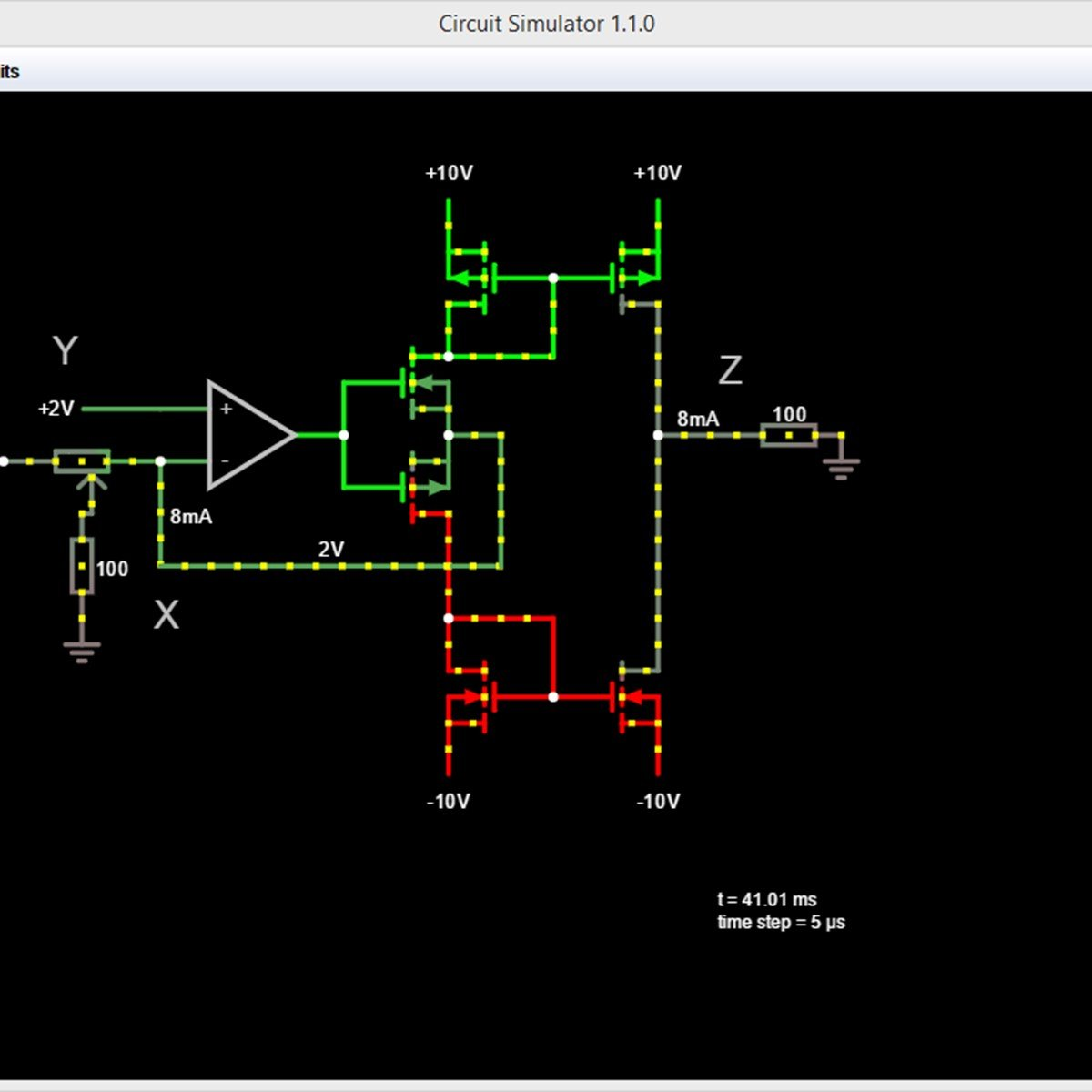 Circuit Simulator Circuitjs1 Alternatives And Similar Software Electronic Online