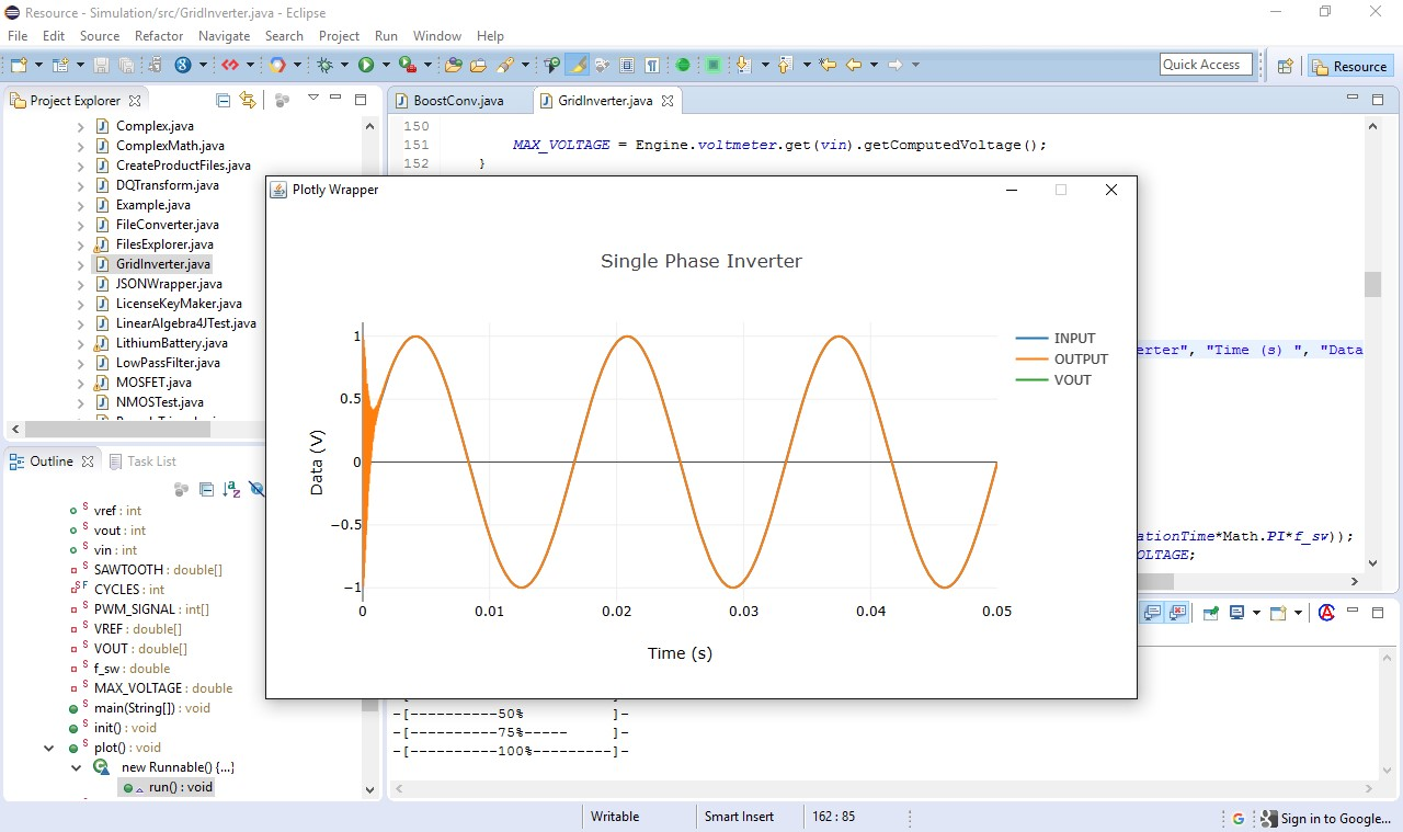 Circuit Solver Desktop Alternatives And Similar Software Electronic Java Applet Simulation Of A Single Phase Grid Inverter W Pll