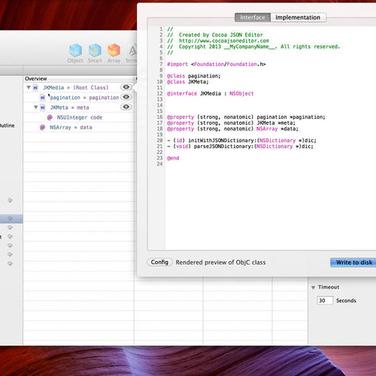 Cocoa JSON Editor Alternatives and Similar Software
