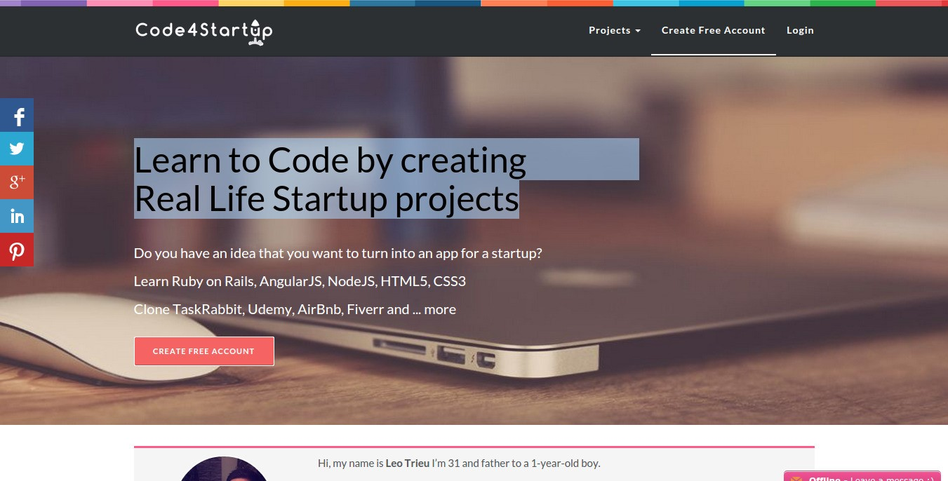 Code4Startup Alternatives and Similar Websites and Apps