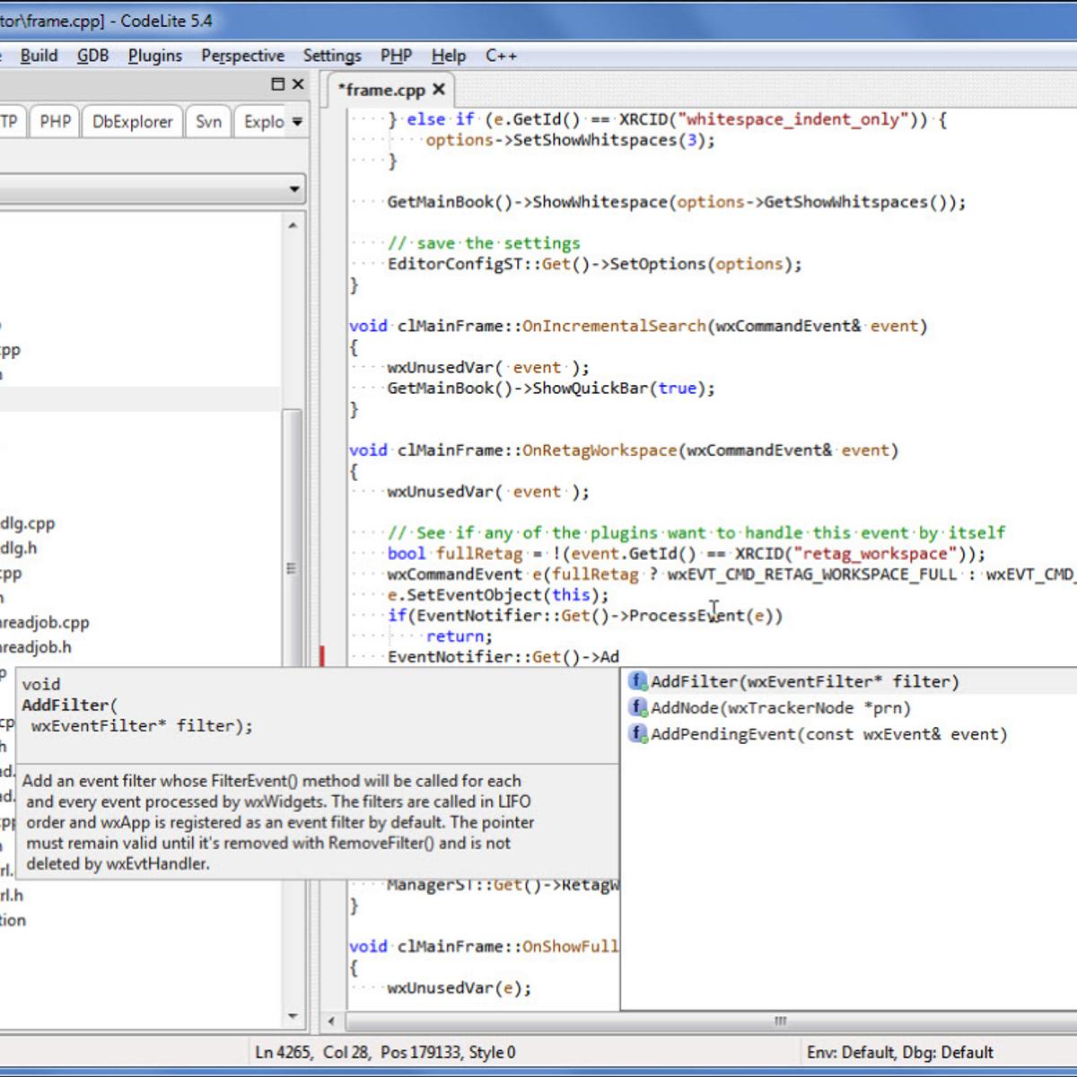 CodeLite Alternatives and Similar Software - AlternativeTo net
