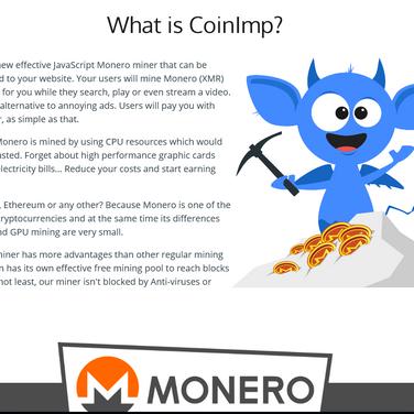 CoinImp Alternatives and Similar Websites and Apps - AlternativeTo net