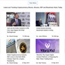 Latest and Trending Cryptocurrency, Bitcoin, Altcoins, XRP and Blockchain News Today icon