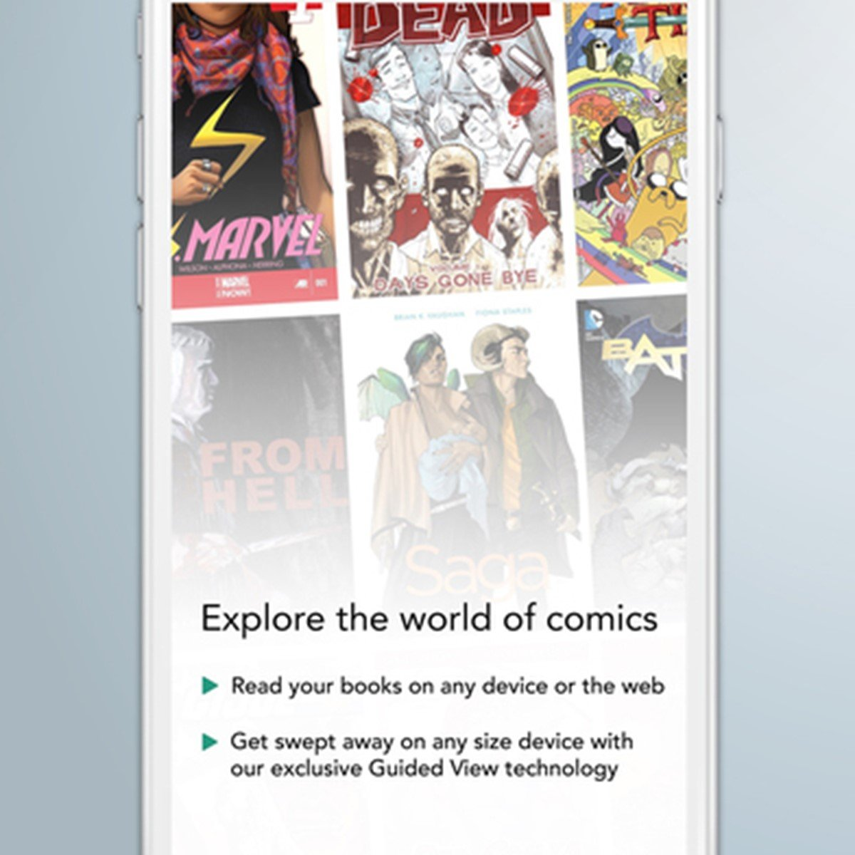 Comixology android sync