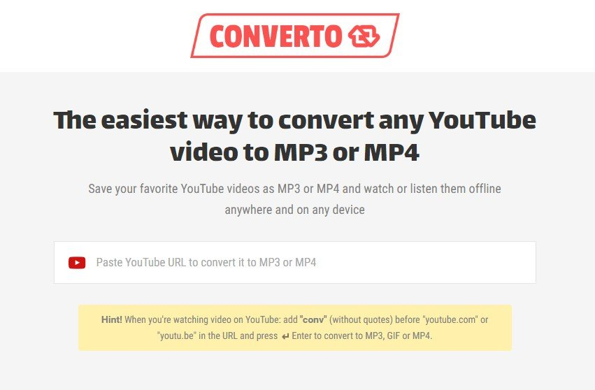 listen to youtube videos as mp3