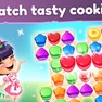 Match tasty cookies icon