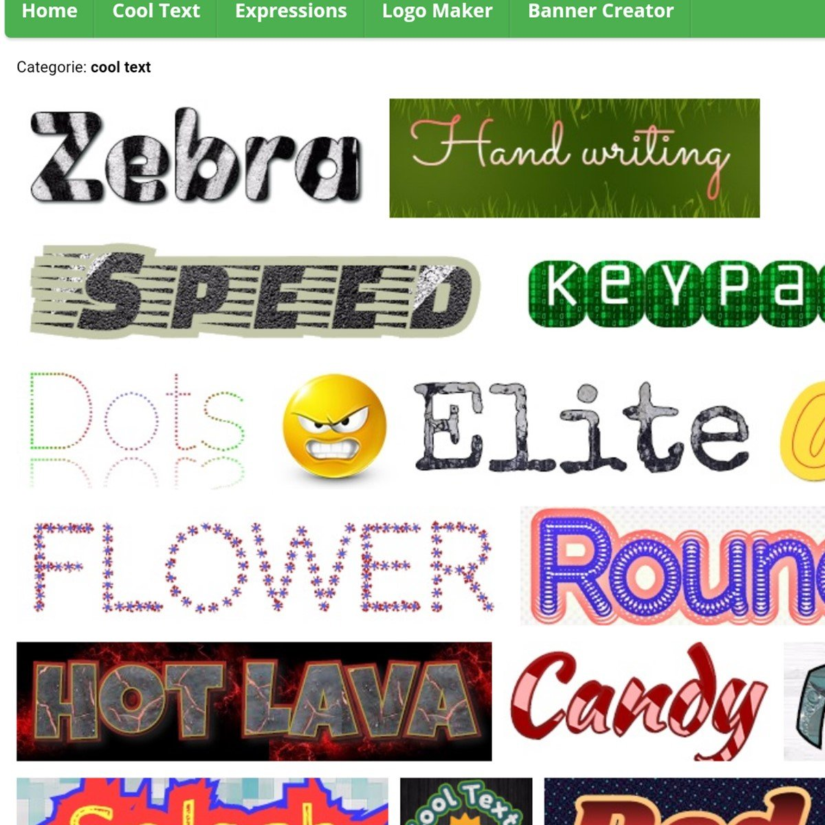 Cool Text Logo Alternatives And Similar Websites And Apps