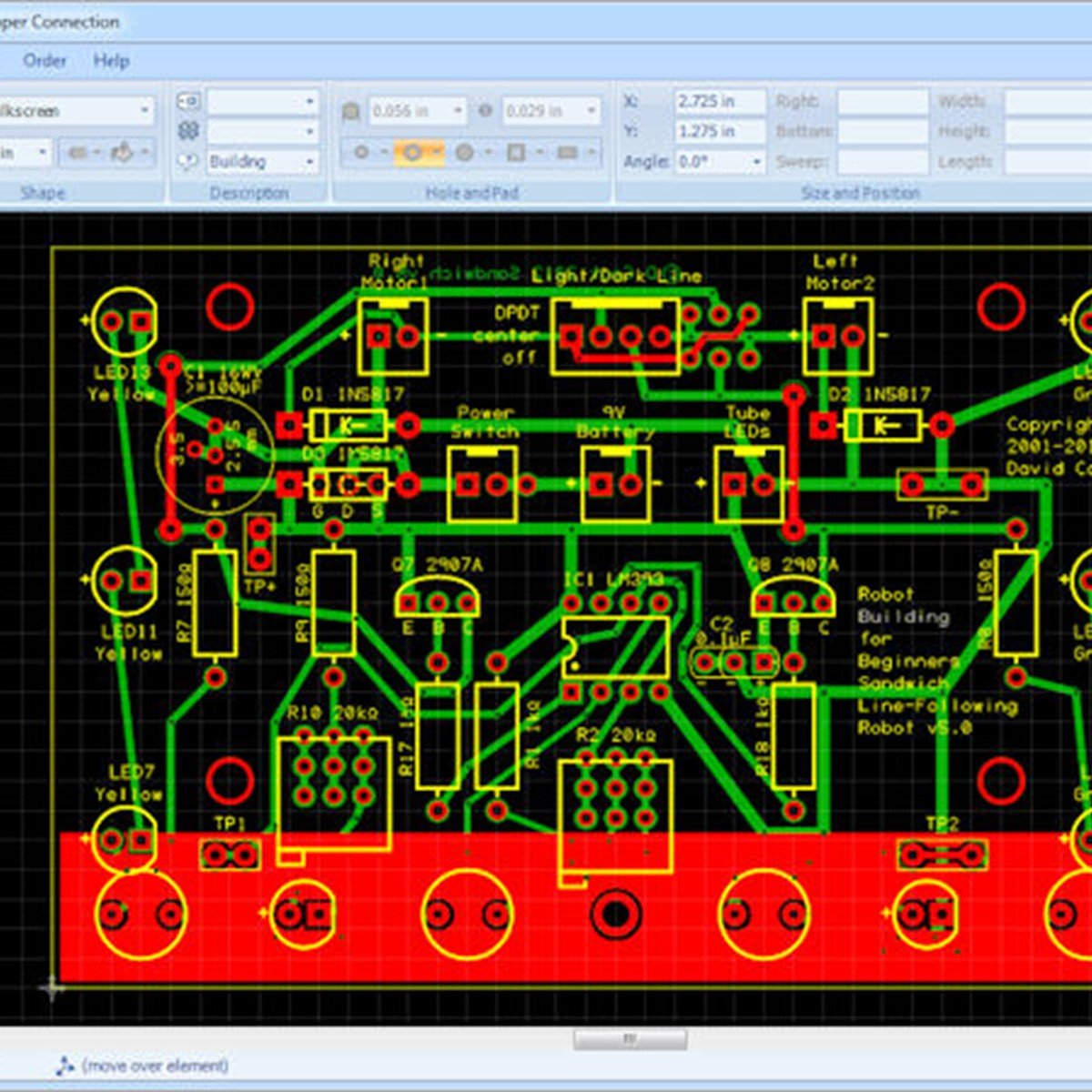 Copper Connection Alternatives And Similar Software Printed Circuit Board Photo From Wwwexpresspcbcom