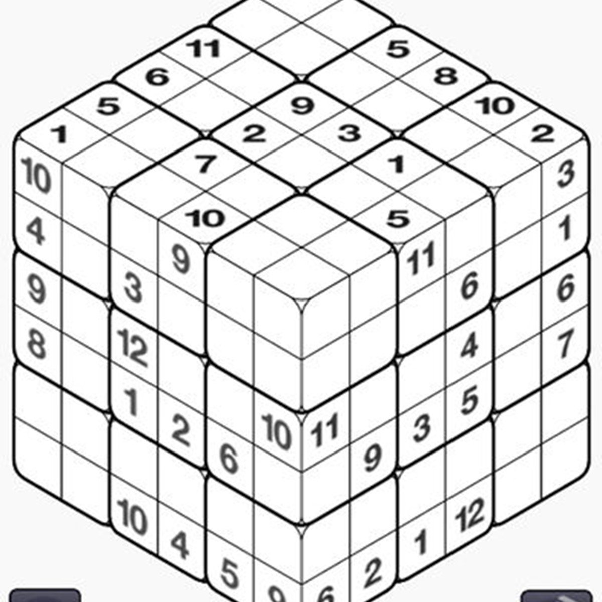 Coppo Cube - Logic Game Sudoku 3D Alternatives and Similar Games