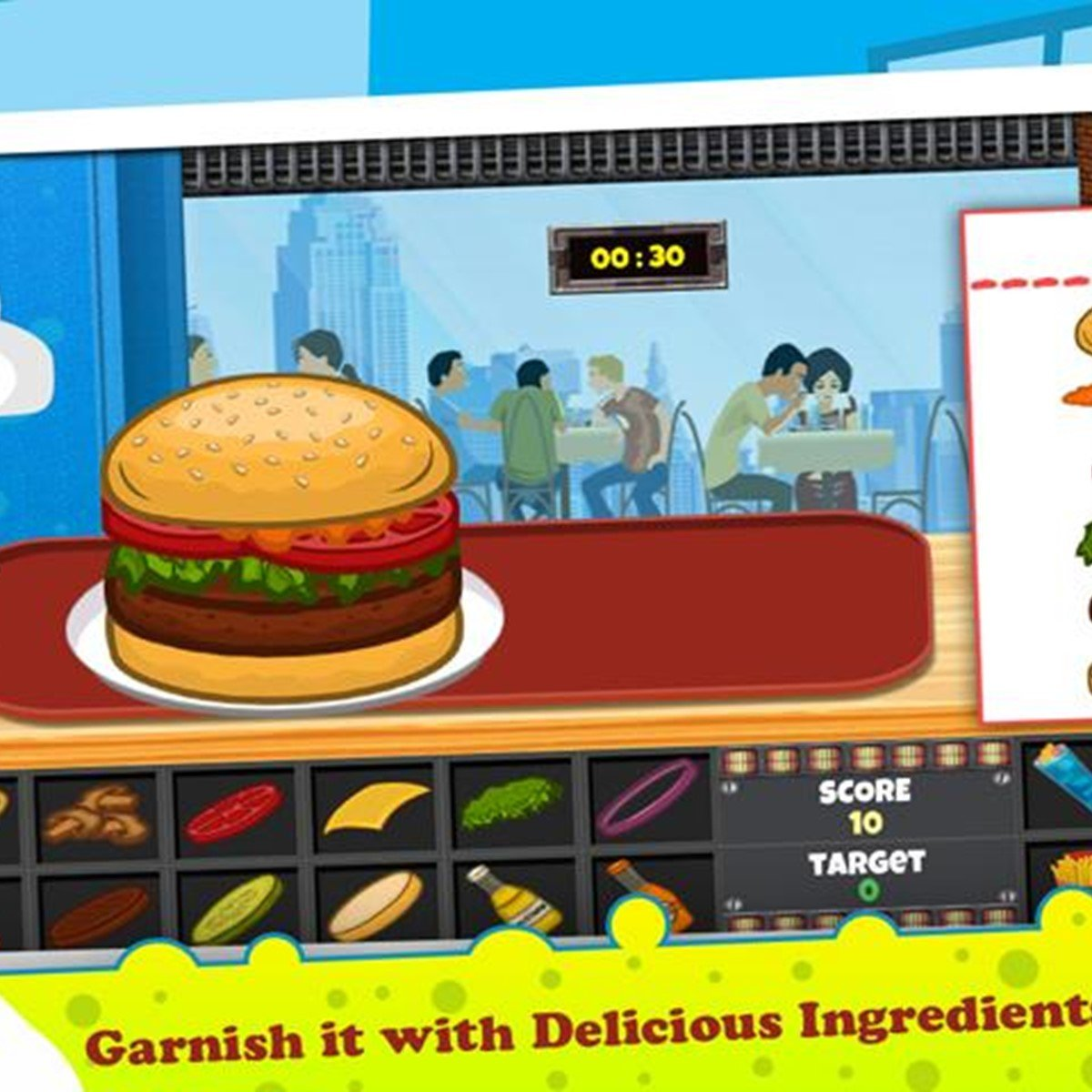 crazy burger shop free games for kids alternatives and similar apps