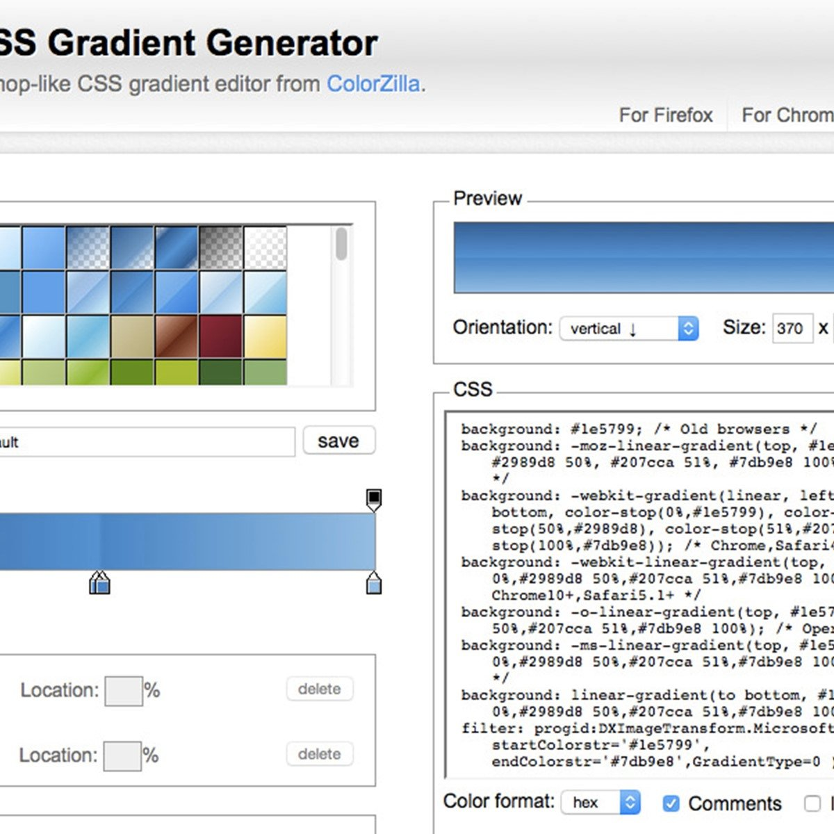Ultimate CSS Gradient Generator Alternatives and Similar Websites and Apps - AlternativeTo.net