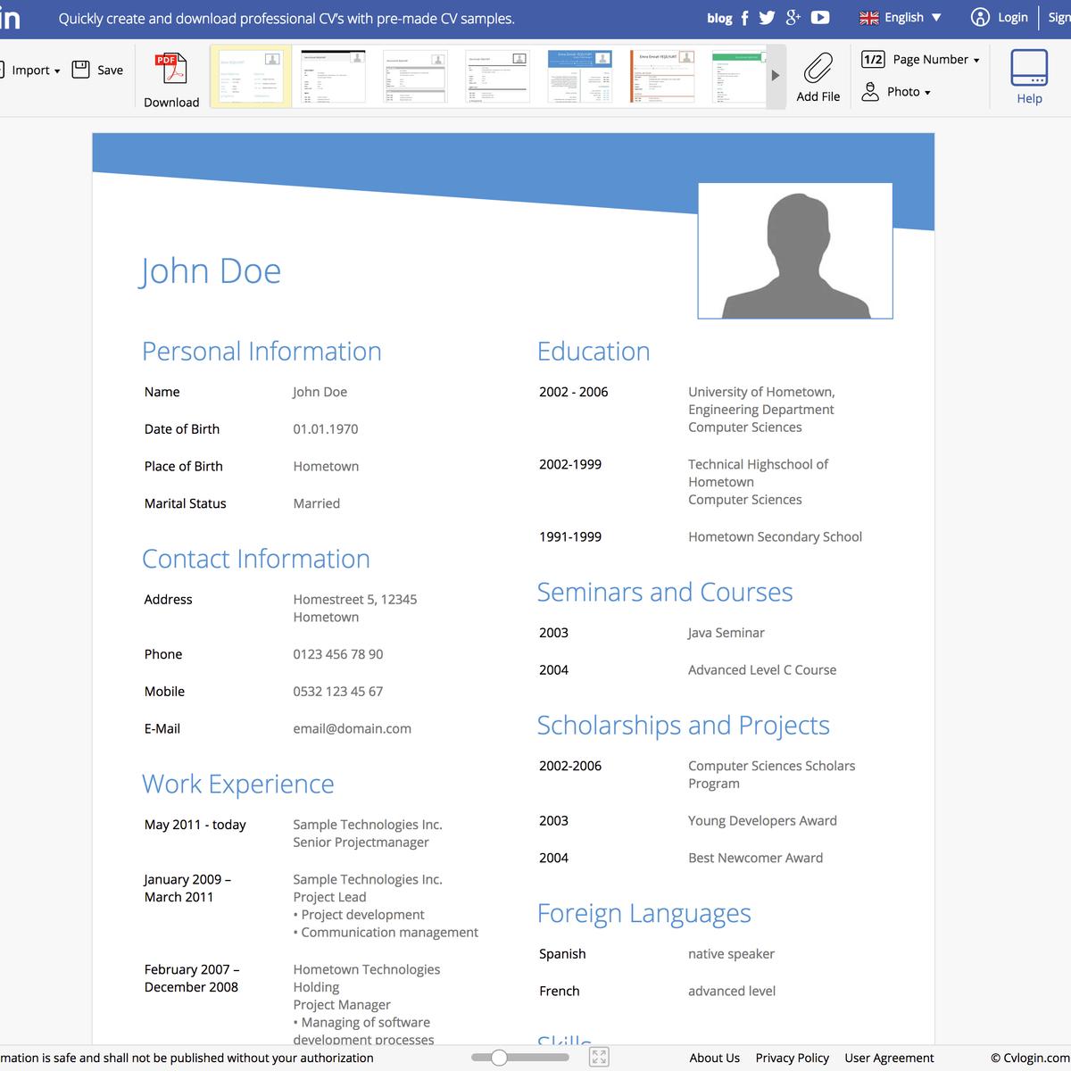 cvlogin alternatives 21 similar apps and software alternativeto net