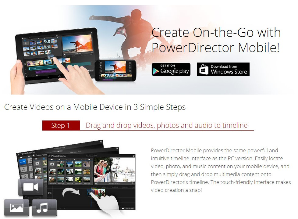 powerdirector 12 app free download